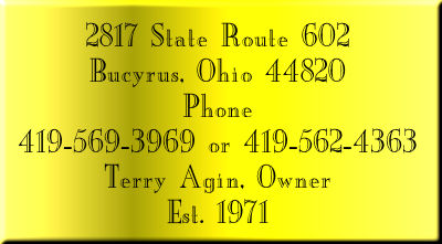 2817 State Route 602, North Robinson, Ohio, 44856, Phone 419-562-4363, Fax 419-562-0039